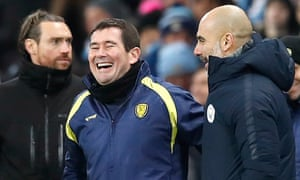Nigel Clough said after his side's Carabao Cup hammering at Manchester City: 'They were shouting: 'We want 10'. And we stopped them, that's a positive for us.'