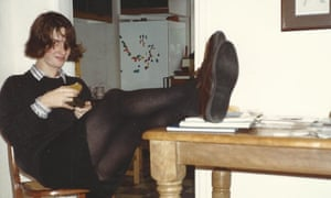 Emma Beddington in around 1990 … 'I definitely needed that taste of the real world.'