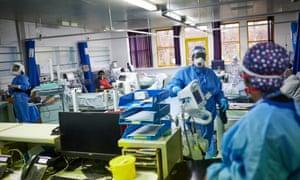 The high dependency unit at Milton Keynes University hospital