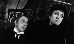 Anna Quayle with Ronnie Corbett in the 1967 James Bond send-up Casino Royale.