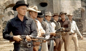 Steve McQueen, second left, in The Magnificent Seven.