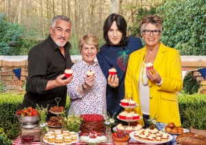 Channel 4's Bake Off presenters