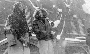 Move members continue the radical group's vigil at its west Philadelphia headquarters on 3 March 1978.