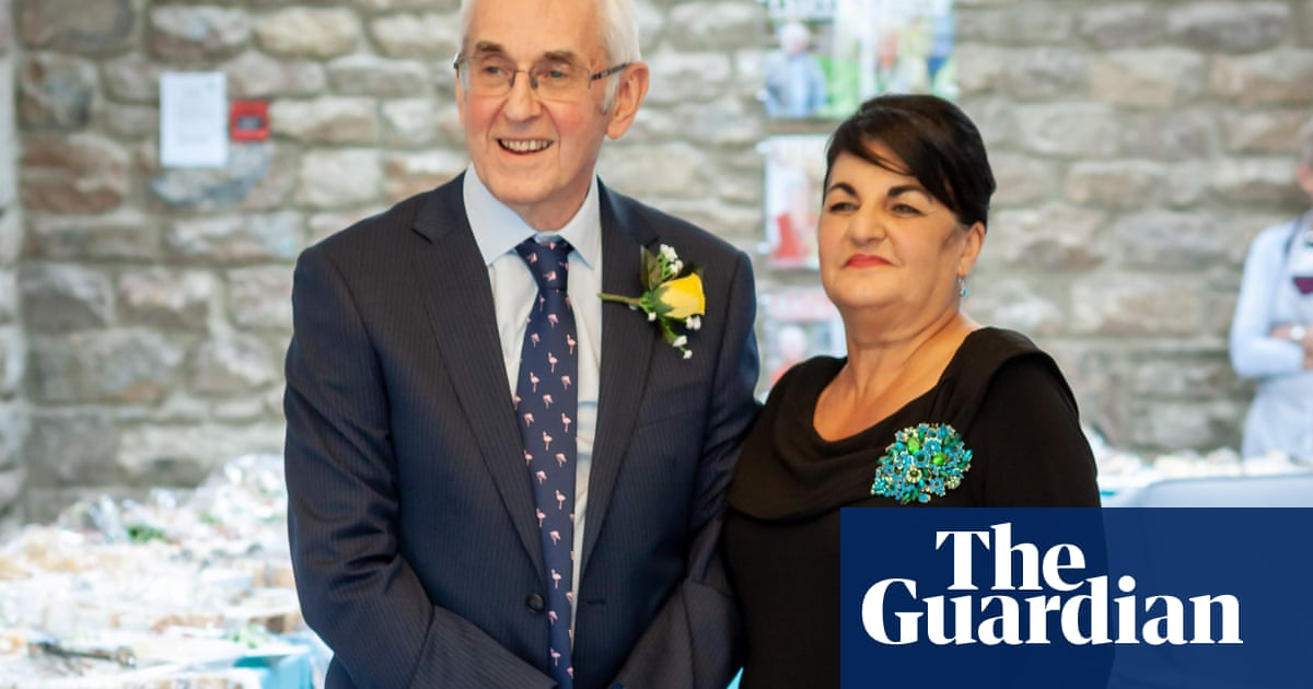 'Getting married rejuvenated me': the over-65s tying the knot