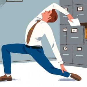 office movements illustration
