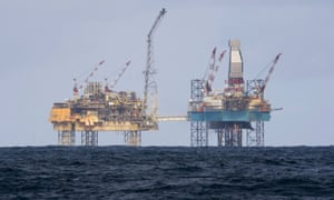 Shell's Elgin rig, 150 miles off Aberdeen in the North Sea, is among the assets sold to Chrysaor.