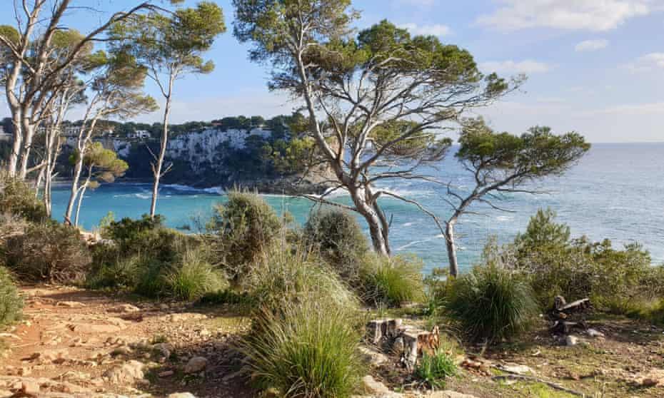 Menorca's 125-mile coastline is circumnavigated by the Camí de Cavalls trail.