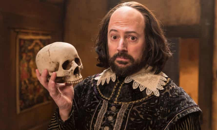 David Mitchell as William Shakespeare in Upstart Crow.