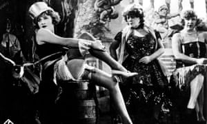 Where it all began: Dietrich as Lola in The Blue Angel.