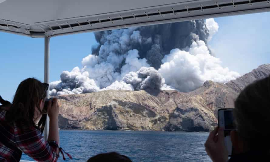 Forty-seven people were on White Island/Whakaari when the volcano erupted on 9 December.