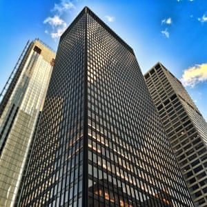 The stunning Seagram Building in NYC