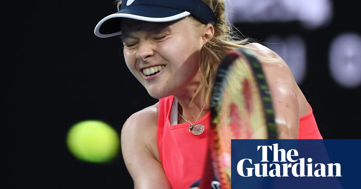 British singles hopes end at Australian Open as Harriet Dart loses to Halep