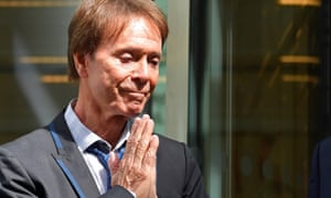 Cliff Richard leaves the high court