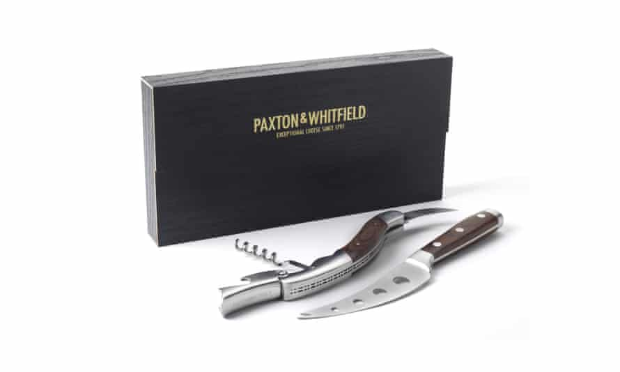 Cheese and wine sommelier set, £40paxtonandwhitfield.co.uk