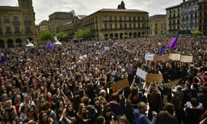 Protest Pamplona