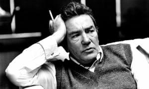 A portrait of Albert Finney taken on 3 March 1988