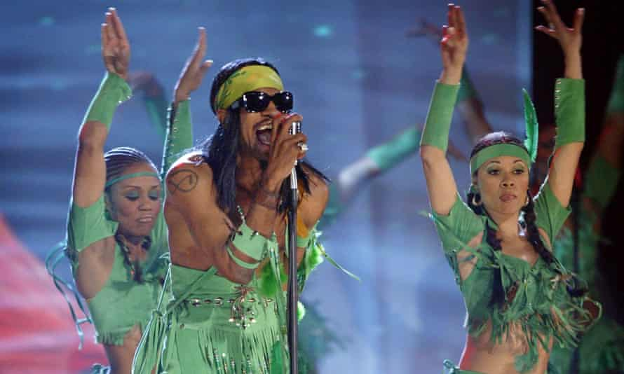 Andre 3000 in 2004: 'electric negritude'