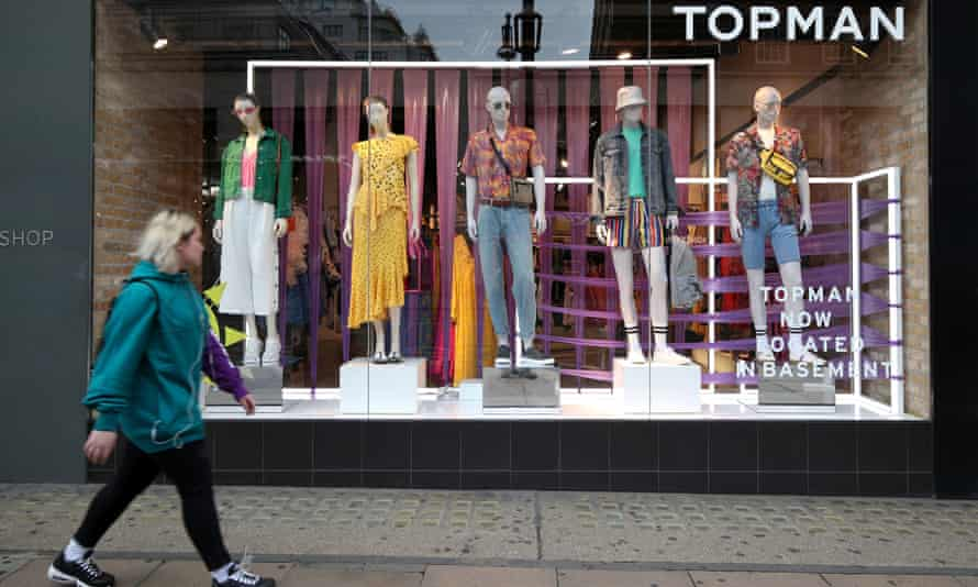 Topshop on London's Oxford Street: other Arcadia brands have been neglected, say critics.