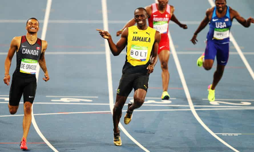 Andre de Grasse and Usain Bolt appear to find the 200m easier than most other athletes