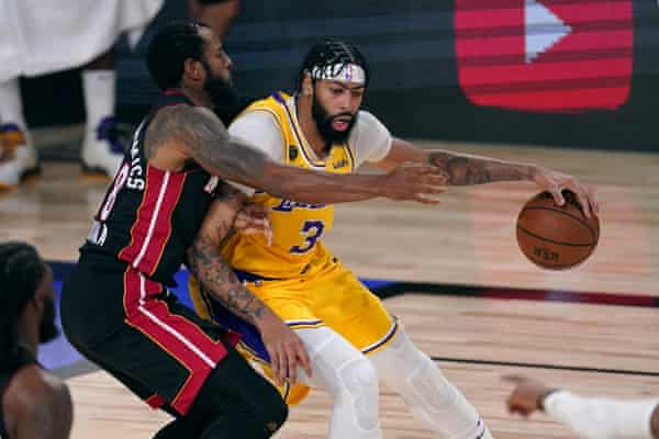 Nba Finals 2020 Game 1 Miami Heat 98 116 Los Angeles Lakers As It Happened Sport The Guardian