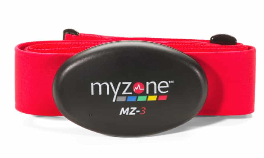 Right on target: the MyZone personal tracker should help you beat your fitness goals