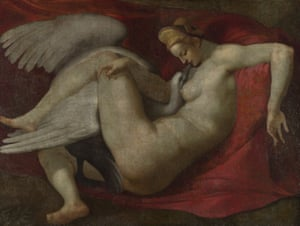 Leda and the Swan, After Michelangelo