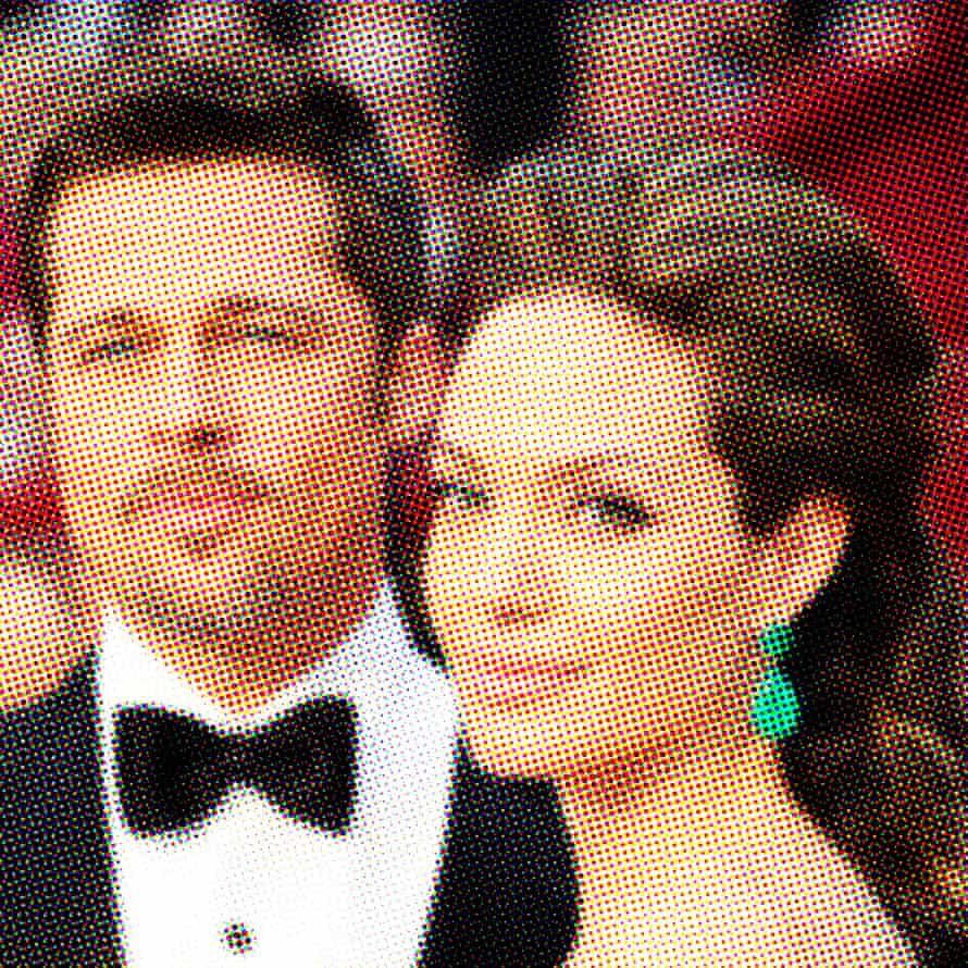 Pitt and Jolie arrive at the Oscars, 2009.