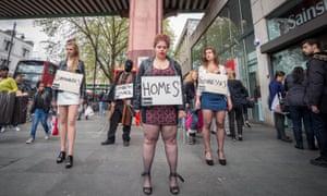 A Reclaim Brixton' protest last April.