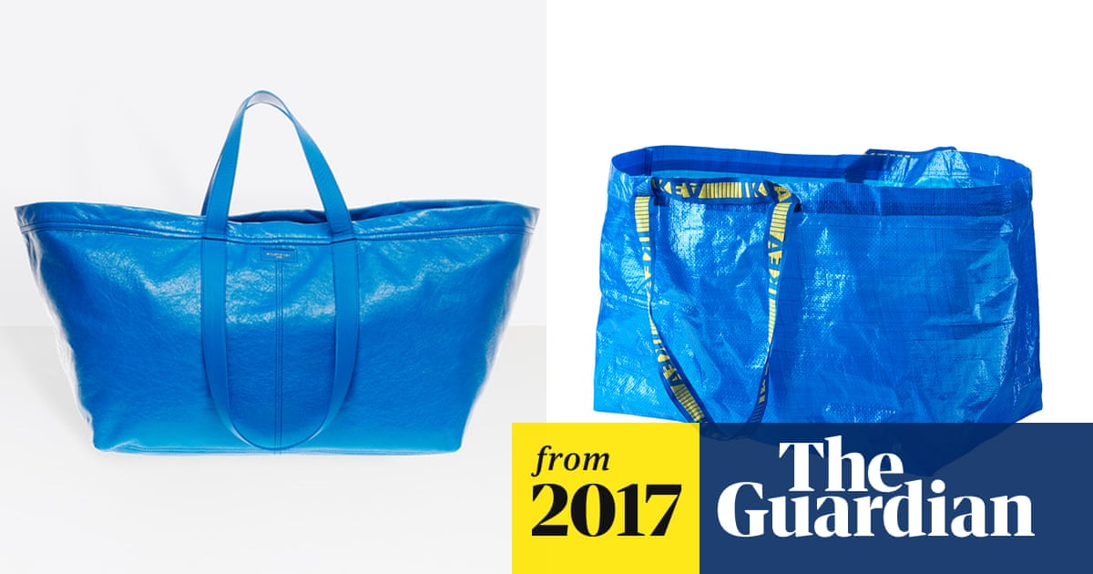 c5c73b69a42 Flat-pack fashion  Ikea takes swipe at Balenciaga s  2