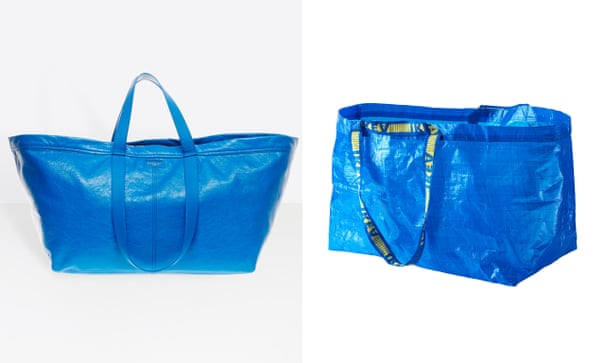 Flat-pack fashion: Ikea takes swipe at Balenciaga's $2,150