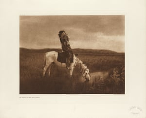 An oasis in the Bad Lands, one of the most celebrated images from The North American Indian publication