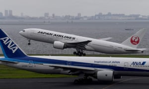 The two largest Japanese airlines have changed the way they refer to Taiwan on Chinese-language websites.