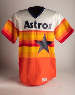 An 80s design for the Houston Astros from ad agency McCann Erickson