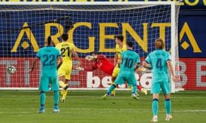 Lionel Messi scores, but VAR intervenes.