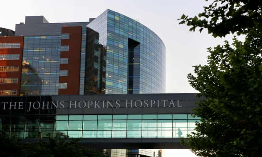 Johns Hopkins hospital in Baltimore, Maryland. The median unpaid debt that led to a lawsuit was $1,438.