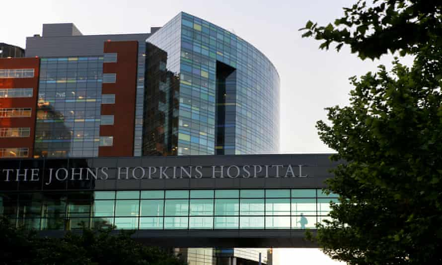 Johns Hopkins medical center was listed as one of the most dangerous places to work.