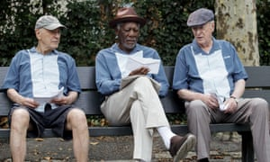 Alan Arkin, Morgan Freeman and Michael Caine in Going in Style
