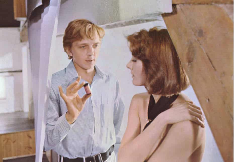 A man who looks but doesn't see … David Hemmings as the photographer and Vanessa Redgrave in a scene from Blow-Up. Photograph: Moviestore Collection/ Alamy