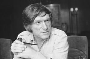 Hefner in 1977