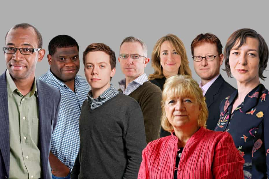 The Guardian telethon journalists