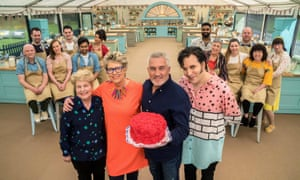Sandi Toksvig, Prue Leith, Paul Hollywood and Noel Fielding in the second Channel 4 series of The Great British Bake Off.