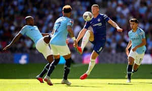 Ross Barkley failed to make an impression for Chelsea in their FA Community Shield to Manchester City.