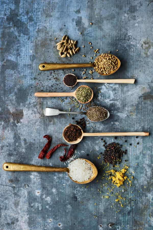 Make enough Sri Lankan curry powder to last a few months.