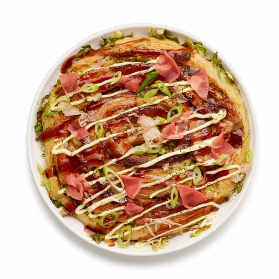 The perfect okonomiyaki.