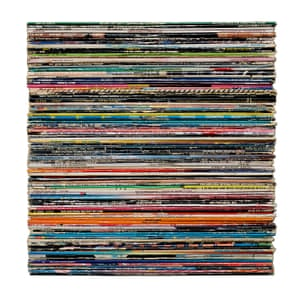 Disco Records by Mark Vessey