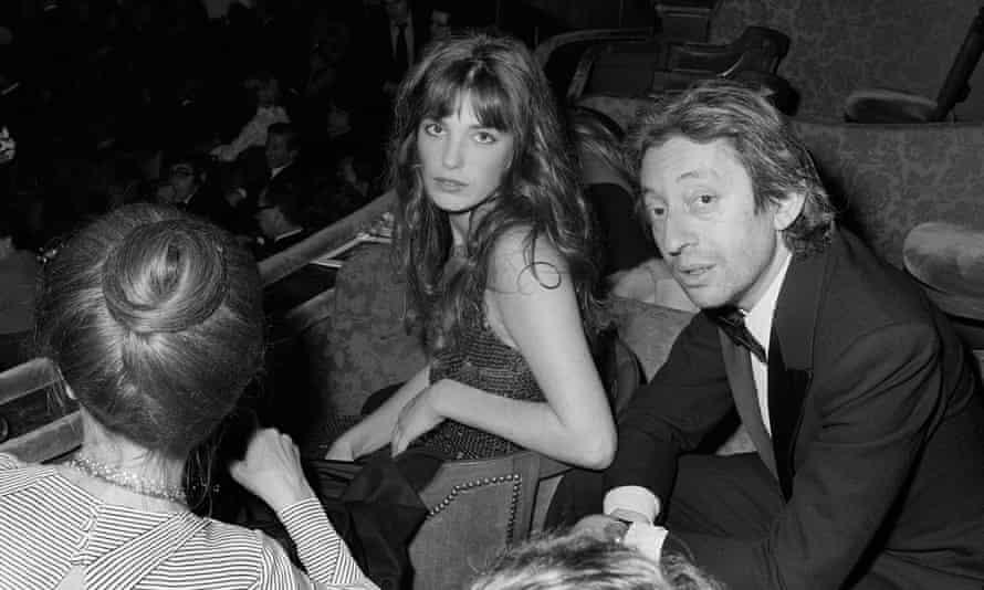 Serge Gainsbourg and Jane Birkin in Paris in 1973