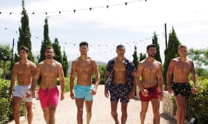 Alex Miller (second left) appeared on the 2018 series of Love Island