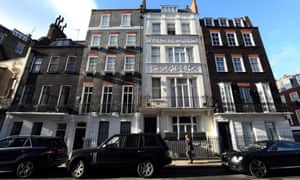 expensive London street