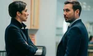 More bombshells to come ... Vicky McClure and Martin Compston in Line of Duty.