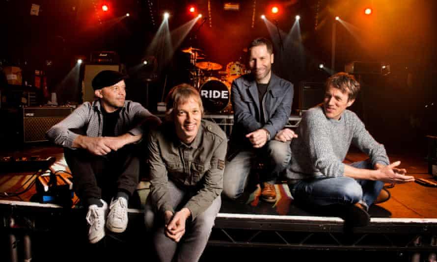 Ride … Mark Gardener, Andy Bell, Steve Queralt and Laurence Colbert.